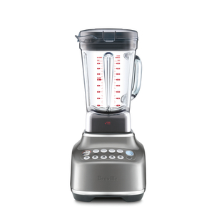 Breville The Q Smoked Hickory 68 Ounce Blender with Flex-Core Silicone Spatula