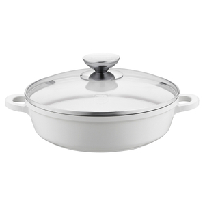 Berndes Vario Click Pearl Induction 11.5 Inch Sauté Casserole with Glass Lid