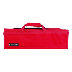 Messermeister Red Padded 8 Pocket Knife Roll