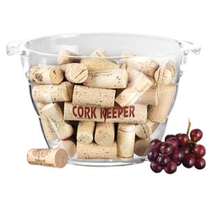 Prodyne Acrylic 80 Cork Keeper Wine Bucket