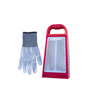 Microplane Grate Away Safely Red 2 Piece Set