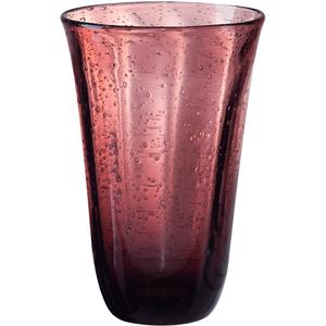 Artland Savannah Purple Bubble Glass 18 Ounce Highball Tumbler
