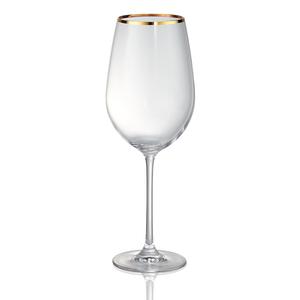 Artland Gold Band 25 Ounce Bordeaux Wine Glass