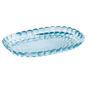 Guzzini Tiffany M Sea Blue 12.6 x 8.9 Inch Tray