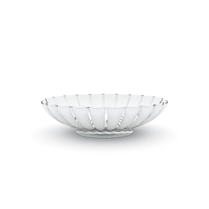 Guzzini Grace Transparent Acrylic Oval Centerpiece