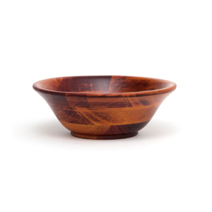 Lipper Cherry Finished 7 Inch Flared Bowl