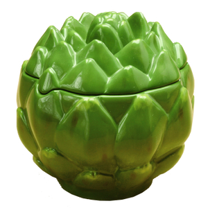 Gourmet Home Collection Ceramic Artichoke Storage Container