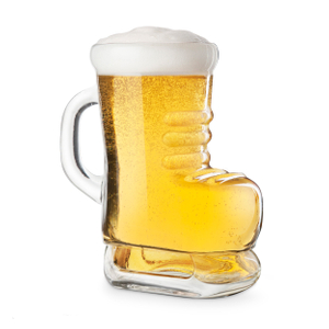 Final Touch Ice Skate 30 Ounce Beer Glass