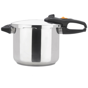Zavor ZPot Stainless Steel 10 Quart Pressure Cooker with Cookbook