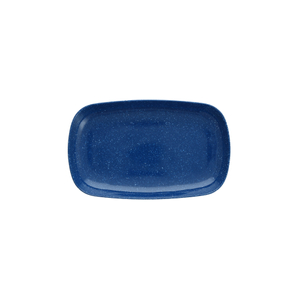 Fortessa Camp Blue Melamine Rectangular Coupe Platter, Set of 6