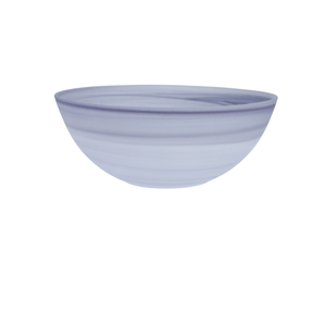 D&V La Jolla Amethyst Glass Serving Bowl