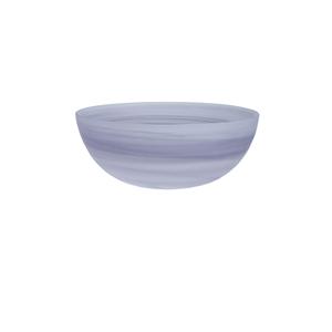 D&V La Jolla Amethyst Glass Large Salad Bowl