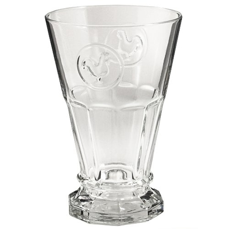 French Country Rooster Glass Tumblers Set of 4