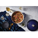 Le Creuset Indigo 14 Piece Cookware and Bakeware Set with Cookbook