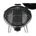 Rosle Black Enameled Steel Charcoal Kettle Grill No.1 Air F50
