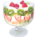 Artland Simplicity Footed Glass Trifle Bowl, 13.75 Cup