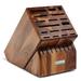 Wusthof Acacia 25 Slot Mega Knife Block