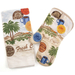 Fresh Coffee Palm Trees Kitchen Towel Mit, 2 Piece