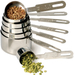 RSVP Endurance Stainless Steel 7 Piece Measuring Cup Set