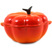 Le Creuset Flame Enameled Cast Iron Pumpkin-Shaped French Oven, 2.25 Quart