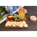 Kalmar Home Acacia Wood Large Cheese Board with Knife