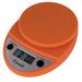 Escali Primo Pumpkin Orange Digital Scale 11 lb / 5 Kg