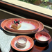 Carmel Ceramica Honeysuckle Stoneware Oval Tray