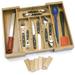 Lipper International Bamboo 6 Slot Drawer Organizer