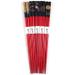 Asian Red Bamboo Chopsticks, 5 Pair