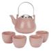 Old Dutch Ariel Pink 6 Piece Teapot Set