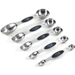 Progressive International Stainless Steel 5 Piece Magnetic Measuring Spoon Set
