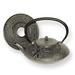 Japanese Tetsubin Cast Iron Rust 20 oz. Teapot