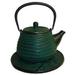 Japanese Tetsubin Cast Iron Green Beehive 26oz. Teapot