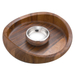 Nambe Butterfly Chip and Dip Set, 16 x 4.5 Inch
