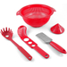 MyPlace Red 5 Piece Pasta Pack Prep Set