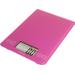 Escali Arti Poppin' Pink Glass Digital Kitchen Scale, 15 Pound