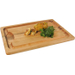 J.K. Adams Farmhouse Carver Maple Cutting Board with Juice Well