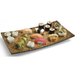 Lipper International Decorative Mango Wood Serving Tray