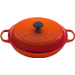 Le Creuset Signature Flame Enameled Cast Iron Braiser, 3.5 Quart