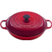 Le Creuset Signature Cherry Enameled Cast Iron Braiser, 5 Quart