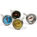 Norpro Stainless Steel Mini Steak Thermometer, Set of 4