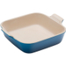 Le Creuset Heritage Marseille Blue Stoneware 9 Inch Square Baking Dish