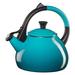 Le Creuset Caribbean Enamel on Steel 1.6 Quart Oolong Tea Kettle