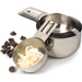 RSVP Endurance Stainless Steel 6 Piece Nesting Measuring Cup Set