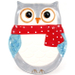 Boston Warehouse Porcelain Snowy Owls Platter