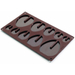 Lekue 3D Brown Silicone Easter Eggs Mold