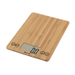 Escali Arti Bamboo Digital Kitchen Scale, 15 Pound