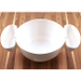 Prodyne Chips and Dips 3 Piece White Bowl Set