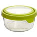 Anchor Hocking TrueSeal 1 Cup Round Food Storage Container with Green Airtight Lid, Set of 2