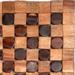 Entryways Adams Natural Exotic Rosewood and Teak Mat, 18 X 30 Inch